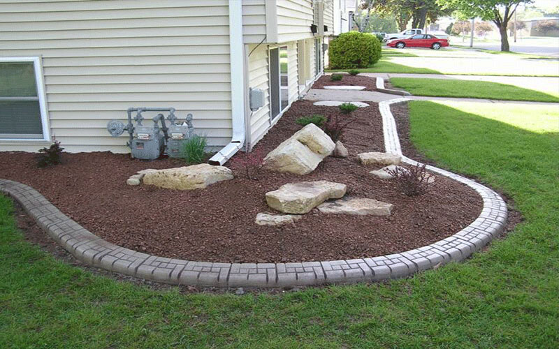 Landscape curbing north fort myers for Landscaping rocks fort myers fl