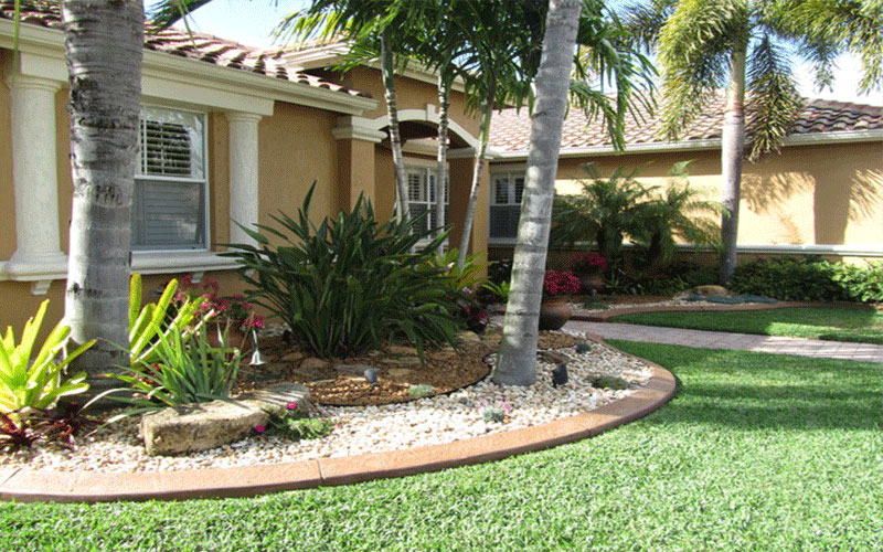 Landscape designers north fort myers for Myers lawn and garden